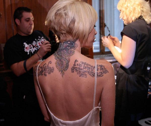 jenna jameson's new tatoo